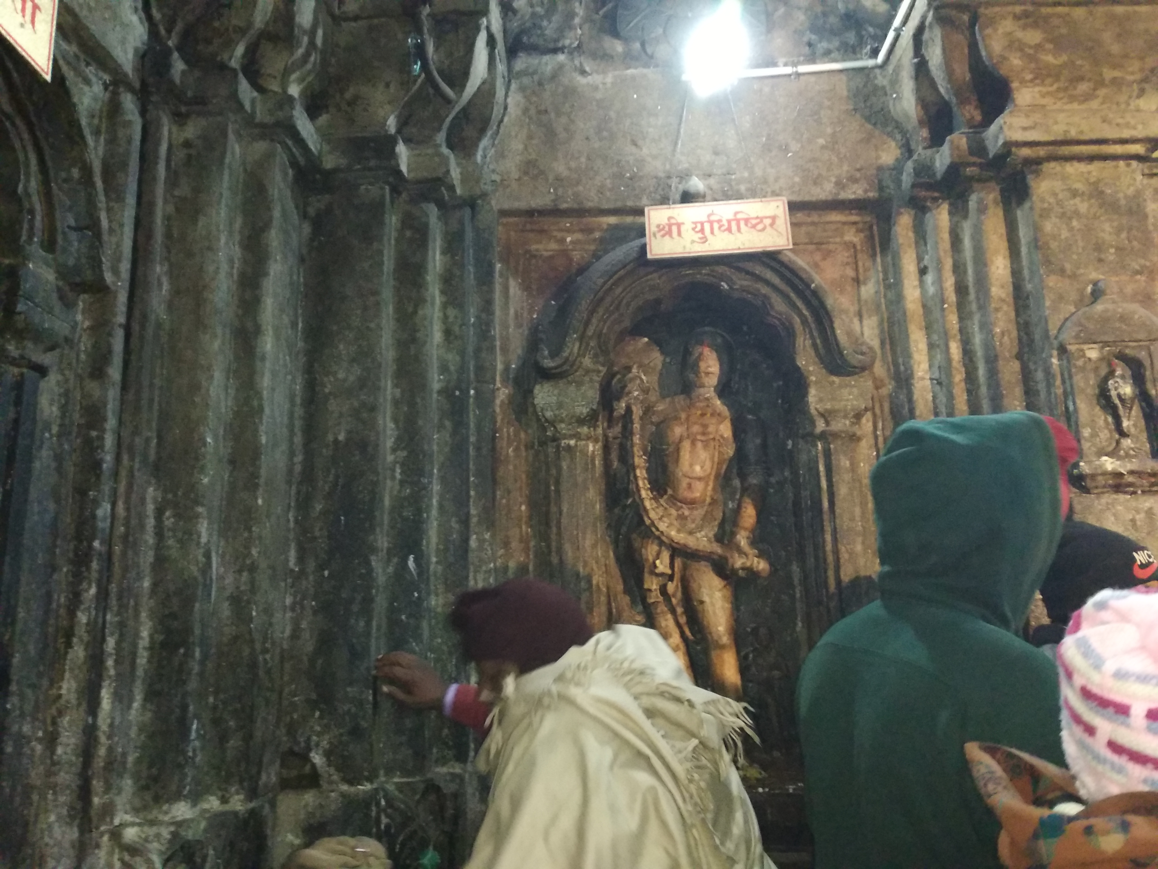 Visit to Kedarnath temple in morning and trekking in rain while coming