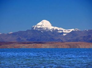 Kailash and Mansarovar together