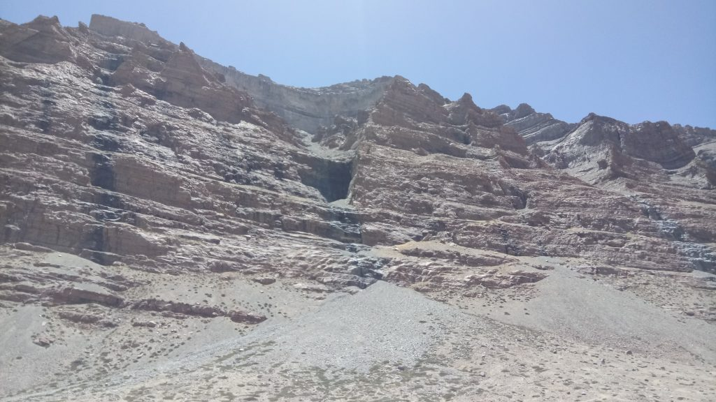 Caves in mountains of Kailash